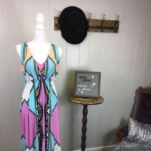 Vacation dress! Beautiful pastels.